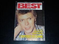 BEST N° 158 - DAVID BOWIE / IRON MAIDEN / FOREIGNER ... SEPTEMBRE 1981
