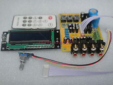 Assembled board M62446 5.1CH Preamp Preamplifier volume Remote Control Weiliang