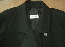 schwarz Loden-Mantel Grösse 44 Trachten-Mantel Schur-Wolle