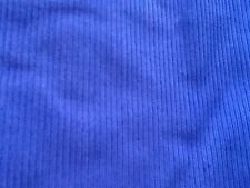 Cotton cord Corduroy fabric Wale 11 blue/purple & green/brown @£3.95/m 90cm wide