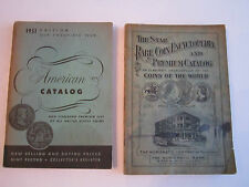 1933 THE STAR ENCYCLOPEDIA - COINS OF THE WORLD & 1951 AMERICAN CAT. COINS RH-3