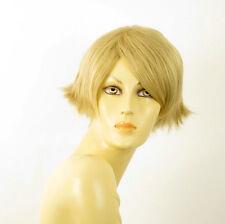 perruque femme 100% cheveux naturel courte blonde ref CLARA 22