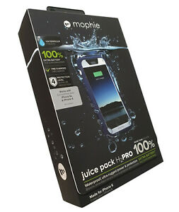 Mophie iPhone 6S / 6 Juice Pack H2PRO Waterproof Charging Cover Case