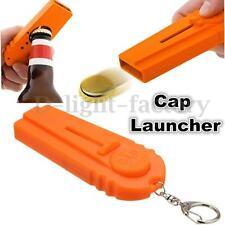 Flying Zappa Beer Drink Bottle Opener Cap Launcher Top Shooter Gun Key Ring Gift