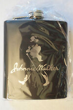 Collectable - Useable - Johnnie Walker - 7oz. Stainless Steel Flask.