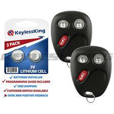2 New Keyless Entry Car Remote Key Fob for GMC Envoy Trailblazer MYT3X6898B