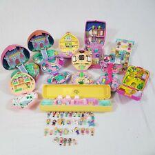 Vintage 80s 90s Polly Pocket Bundle Light Up Figures Playset Job Lot