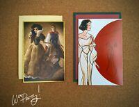 2013/2018 Disney Designer Collection SNOW WHITE Art Note Cards Fairytale Premier
