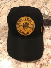 bccce3eb1ba Guinness Extra Stout Label Baseball Cap Irish Ireland Adjustable Hat