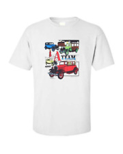 Model A Ford Antique Car T-shirt Single OR Double Print