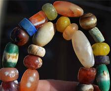 amazonite tibetan agate carnelian mala beads necklace bracelet antique old worry