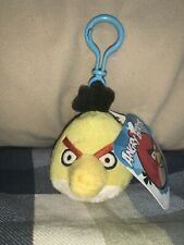 "New Bag Angry Birds Plush Yellow Bird Stuffed Animal 10"" X 8"" X 8"" Commonwealth"