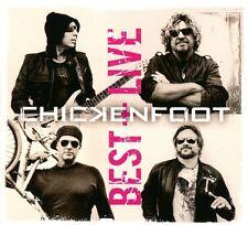 CHICKENFOOT - BEST+LIVE  2 CD NEU