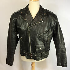 Leather Motorcycle Jacket Vintage Wilsons Thinsulate Biker Rocker Mens Size XL