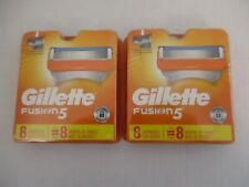 16 COUNT GILLETTE FUSION 5 REFILL CARTRIDGES ALSO FITS POWER SEALED - EL 760R
