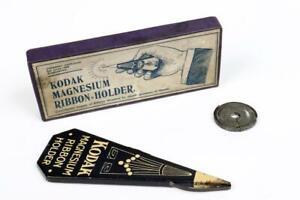 "Vintage ~ ""Kodak"" ""Magnesium Ribbon Holder"" with Box and Spare Ribbon     #951"
