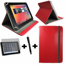 3er Set-Acer Iconia Tab w510 Tablet Sac + Film + Pen - 3in1 10 in Rouge
