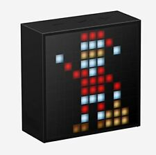 Divoom Timebox Smart Portable Bluetooth LED Speaker with APP-Controlled...