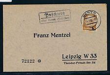 00326) Landpost Ra2 Puschwitz über Kanth (Schlesien) DS 1938
