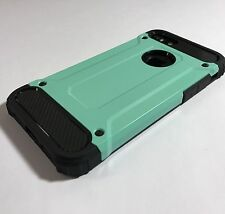 Apple iPhone 7 Case Rugged Composite Metal Design Inc Screen Protector Green