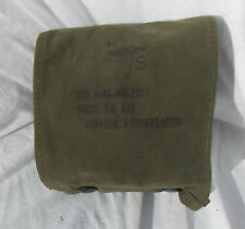 Vietnam War & Later USAF USMC USN Pilot Aviator Camouflaged First Aid Pouch,1967