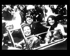 John F Kennedy Seconds Before Shot PHOTO Motorcade Assassination Limousine 1963