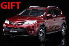 Car Model Toyota New RAV4 1:18 (Red) + SMALL GIFT!!!!!!!!!!!