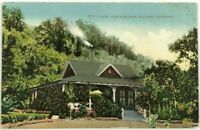 1900s 1910s VTG Postcard Cafe Alum Rock Park San Jose California CA Street View