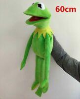 "New 22"" Kermit the Frog Hand Puppet Soft Plush Doll Toy Kids Best Birthday Gift"