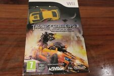 TRANSFORMERS 3  EDITION STEALTH FORCE      ----- pour WII