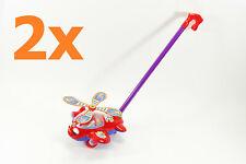 Steck Mobil Auto aus Plüsch Spielzeug Baby mit Namensband Motorik