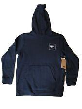 VANS Print Box Hoodie Dress Navy Blue Checkerboard Youth SZ M ( VN0A3W5CZZH )