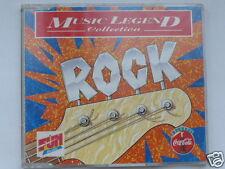 "CD ROCK ""MUSIC LEGEND COLLECTION"" 10 TITRES GENESIS,STATUS QUO etc TRES BON ETAT"