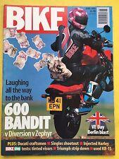 BIKE - June 1995 Suzuki GSF600N Bandit - Yamaha XJ600N Diversion - ZR550F Zephyr