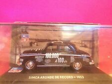 SUPERBE SIMCA ARONDE DE RECORD 1953 NEUF BOITE SOUS BLISTER 1/43 M6