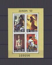ROMANIA, EUROPA CEPT 1993, CONTEMPORARY ART S/S,MNH
