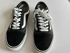 Vans Trainers Suede/Fabric Black Size 9