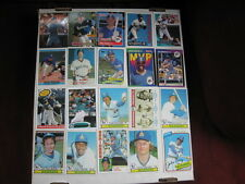 Lot of 20 Seattle Mariners baseball cards. 1970s-present, chrome, RC, HOF