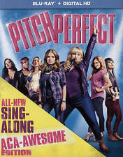 Pitch Perfect (Blu-ray Disc, 2015, Includes Digital Copy; UltraViolet; With..NEW