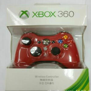 Microsoft Xbox 360 Gamepad Wireless Game Controller Red