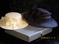 2X WEDDING / ASCOT HATS WINDSMOOR AND KANGOL VGC