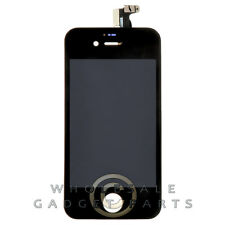 LCD Digitizer Frame Assembly for Apple iPhone 4S CDMA GSM Black  Front Glass