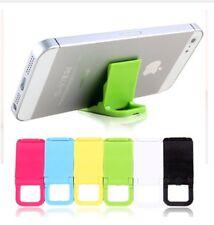 Mini Universal Plastic Desk Stand Holder para iPhone Smart Phone Random Color