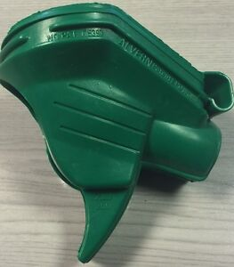 Scuffguard for ZVA Slimline Nozzle, Green/Unleaded, Advertising, Petrol Station