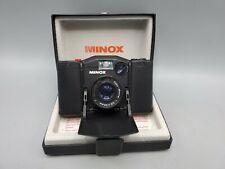 Vintage Minox 35 EL 35mm Film Compact Camera Color Minotar F2.8 35mm Lens + Box