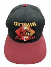 Ottawa Senators NHL CCM Snapback Hat Cap Vintage