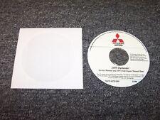 2009 Mitsubishi Outlander Shop Service Repair Manual DVD ES SE XLS 2.4L 3.0L V6