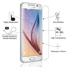 100% Genuine Premium Tempered Glass Screen Protector for Samsung Galaxy S6