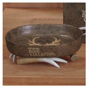 Bone Collector Soap Dish Resin Country Mountain Cabin Michael Waddell Rustic