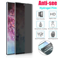 For Samsung Note 10 Plus Soft Privacy Screen Protector Hydrogel Film Full Cover